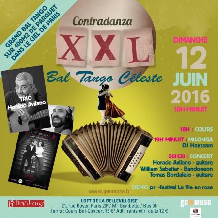 concert et bal tango du 12 juin 2016. encore une programmation exigeante pour les danseurs comme pour les mélomanes